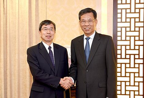 刘昆会晤亚洲开发银行行长